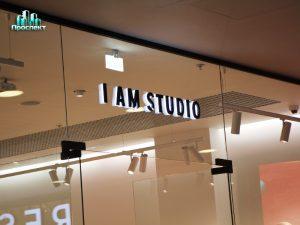 I am studio вывеска