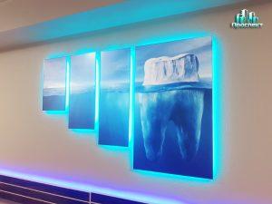 Стоматология Сафия оформление интерьера
